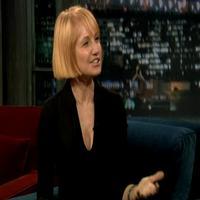 STAGE TUBE: NORMAL HEART's Ellen Barkin Visits Jimmy Fallon