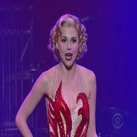 STAGE TUBE: Sutton Foster Performs 'Blow, Gabriel, Blow' on Letterman!