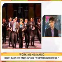 STAGE TUBE: Daniel Radcliffe Visits THE TODAY SHOW