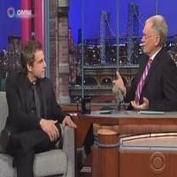STAGE TUBE: BLUE LEAVES' Ben Stiller Visits Late Show