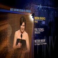 BWW TV: 2010 Tonys Creative Arts Awards - Marina Draghici