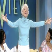 STAGE TUBE: Carol Channing Visits 'The View'!