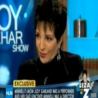 STAGE TUBE: Liza Guests on The Joy Behar Show