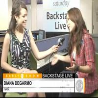 STAGE TUBE: Diana DeGarmo Talks HAIR on CBS