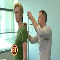 STAGE TUBE: Jane Lynch Gets Waxed for Tussauds