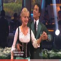 STAGE TUBE: Florence Henderson Waltzes to 'Edelweiss' DWTS