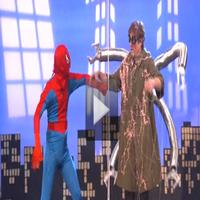 STAGE TUBE: Conan Spoofs SPIDER-MAN