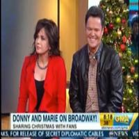 STAGE TUBE: DONNY & MARIE Talk Reuniting on Broadway