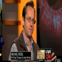 STAGE TUBE: Michael Riedel Talks SPIDER-MAN on CNN