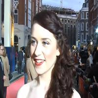 STAGE TUBE: Danielle Hope Talks Oz, Crawford & More on Oliviers Red Carpet