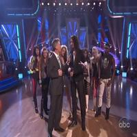 STAGE TUBE: Constantine Maroulis & ROCK OF AGES Cast on DANCING WITH THE STARS!