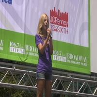 BWW TV: Broadway in Bryant Park - NIGHT MUSIC!