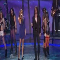 STAGE TUBE: Constantine Maroulis & Emily Padgett Rock America's Got Talent
