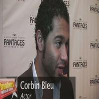 BWW TV: BWW Catches Up with Corbin Bleu - Hopes for Broadway Return Soon