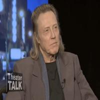 "Stage Tube: Christopher Walken Talks Acting ""Process"" with Riedel on Theater Talk"