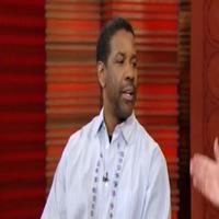 STAGE TUBE: Denzel Washington Visits Regis and Kelly