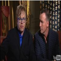 STAGE TUBE: Elton John and David Furnish Talk NORMAL HEART