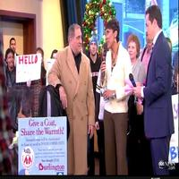 STAGE TUBE: LOMBARDI's Lauria Appears On Good Morning America