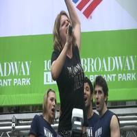 BWW TV: MAMMA MIA! Plays Bryant Park!