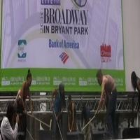 BWW TV: Broadway in Bryant Park - STOMP