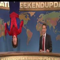 STAGE TUBE:  SPIDER-MAN Spoofed on SATURDAY NIGHT LIVE