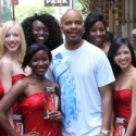 Photo Flash: RACE Stars Promote Show with 'Red Sequined Dress Ladies'