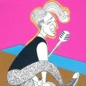 Ken Fallin Illustrates: Levi Kreis in MILLION DOLLAR QUARTET