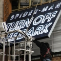 UP ON THE MARQUEE: SPIDER-MAN Going Up!