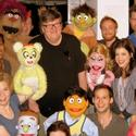 Photo Flash: Michael Moore Visits AVENUE Q