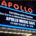 Geri Allen 'Jams' with Timeline at Apollo Music Caf� May 13-14