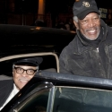 Photo Coverage: A Meeting of the 'Hokes': Morgan Freeman Meets James Earl Jones Backstage at DRIVING MISS DAISY