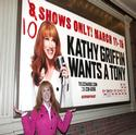 BWW EXCLUSIVE: Kathy Griffin WANTS A TONY & Talks GLEE, Palin, Sheen & More