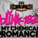 Blink-182 & My Chemical Romance Launch Concert Tour in August