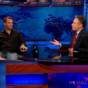 STAGE TUBE: Trey Parker and Matt Stone Talk Beating Out Bono with Jon Stewart