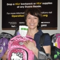 Photo Coverage: Paige Davis Hosts Operation Backpack for Underprivileged Children