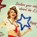 Photo Flash: Reno Sweeney Celebrates Independence Day!