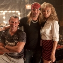 Photo Flash: Bret Michaels Visits ROCK OF AGES Film Set!