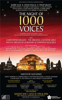 The Night of 1000 Voices Raises £100,000 At Royal Albert Hall