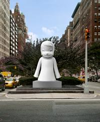 YOSHITOMO_NARAS_WHITE_GHOST_COMING_TO_PARK_AVENUE_20010101