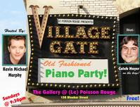 le_Poisson_Rouge_Presents_The_Village_Gates_Old_Fashioned_Piano_Party_20010101