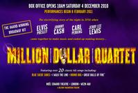 MILLION DOLLAR QUARTET to Open in West End Feb. 28