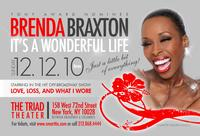 The Triad Theatre Presents Brenda Braxton's It's A Wonderful Life 12/12