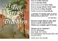 A TREE GROWS IN BROOKLYN Extends At Peccadillo Theater Thru 4/10