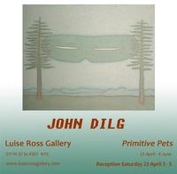 Luise Ross Gallery Hosts JOHN DILG Primitive Pets April 23-June 4