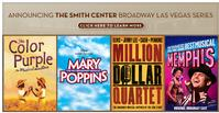 The Smith Center Announces 2012 Broadway Las Vegas Series