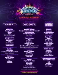 Electric Zoo Announces Lineup 9/2-4