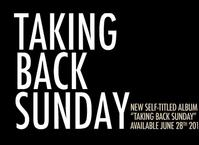 Taking Back Sunday Ready For US Headline Tour