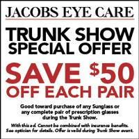 Burberry and Tory Burch Trunk Show Held At Jacobs Eye Care