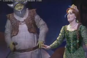 STAGE TUBE: Eric Peterson and Haven Burton Talk SHREK Tour