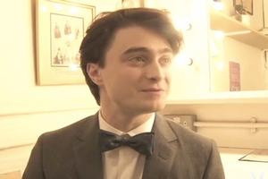 STAGE TUBE: See Radcliffe Behind the Scenes at Vogue Shoot